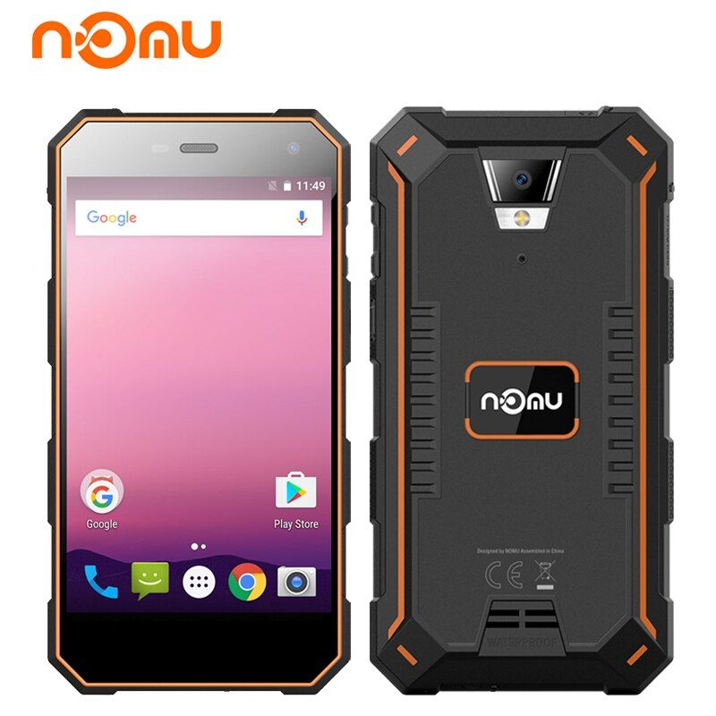 Original Nomu S10 Pro IP68 Waterproof Smartphone 5.0