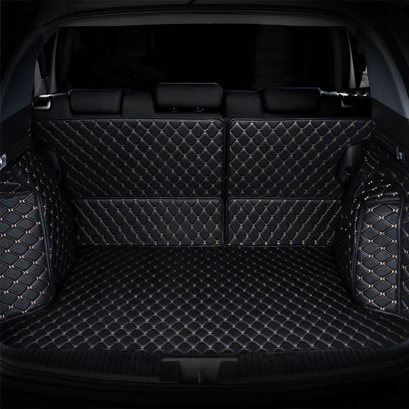 Car Trunk Mat cargo mat for mercedes benz GLE W167 GLK X204 GLS X166 ML class W166 W221 W222