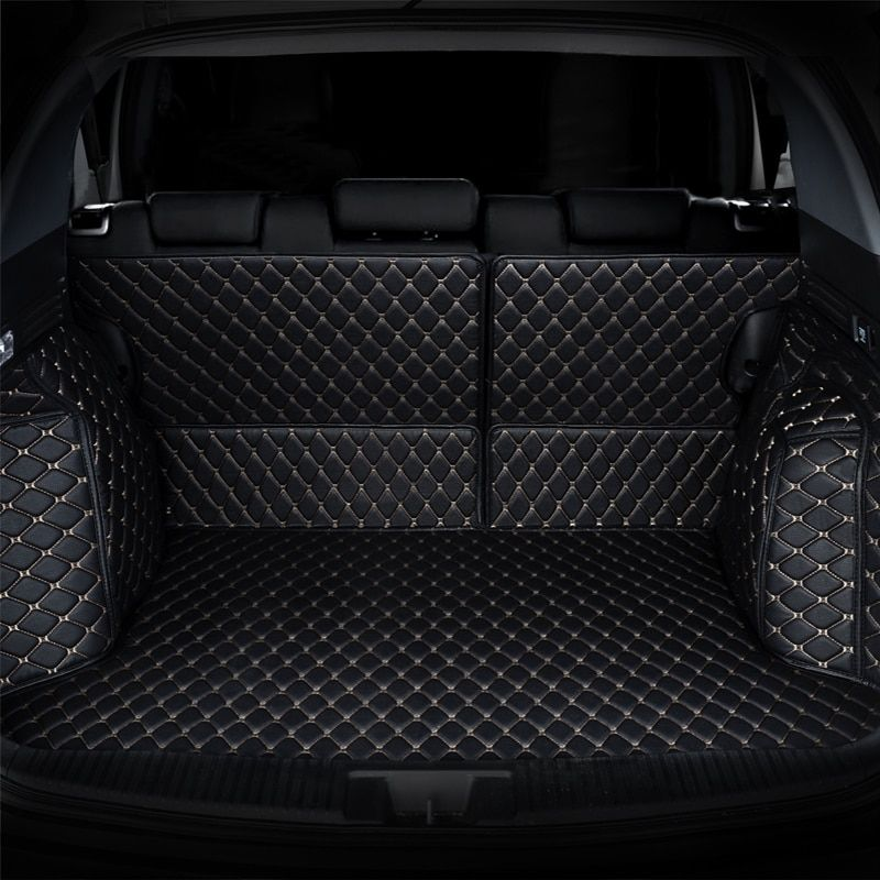 Car Trunk Mat cargo mat for mercedes benz GLE W167 GLK X204 GLS X166 ML class W166 W221 W222