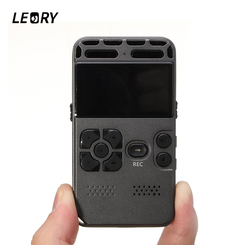 LEORY Professionelle Mini 8 GB Digital Voice Recorder Tragbare Sound Audio Diktiergerät Mit USB MP3 Player Lautsprecher Tf-karte
