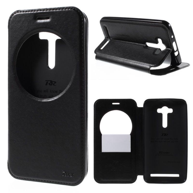 ROAR KOREA for Asus Zenfone 2 Laser ZE550KL 5.5-inch Case Window PU Leather Case for Asus Zenfone 2 Laser ZE550KL ZE551KL Cover