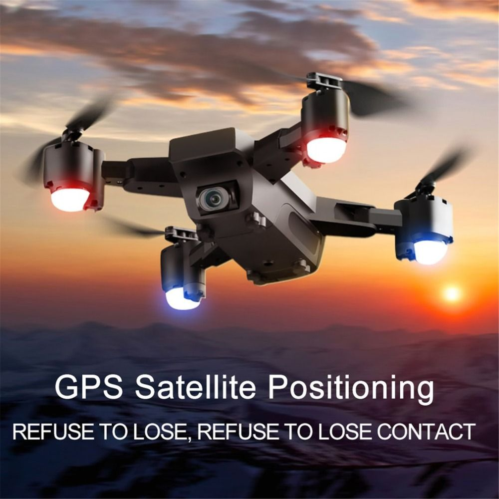 SMRC S20 6 Axles Gyro Mini GPS Drone With Wide Angle 1080P Camera 2.4G Altitude Hold RC Quadcopter Portable RC Model