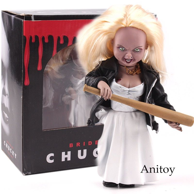 Child's Play Bride of Chucky Tiffany Toys PVC Action Figure Collectible Model Toy 15cm
