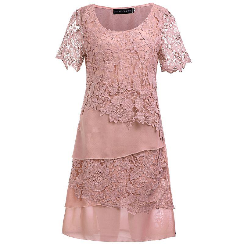 Vintage mujeres verano bodycon crochet Bordado Encaje lápiz Oficina vestido fiesta de noche más tamaño vestido de festa