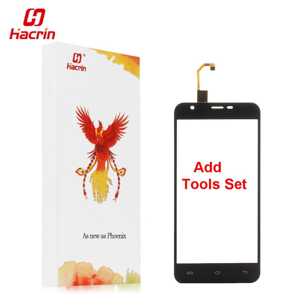 Hacrin Oukitel u7 Plus Touch screen + Tools Set Gift Tested Good Digitizer Glass Panel Assembly Replacement For Oukitel u7 Plus