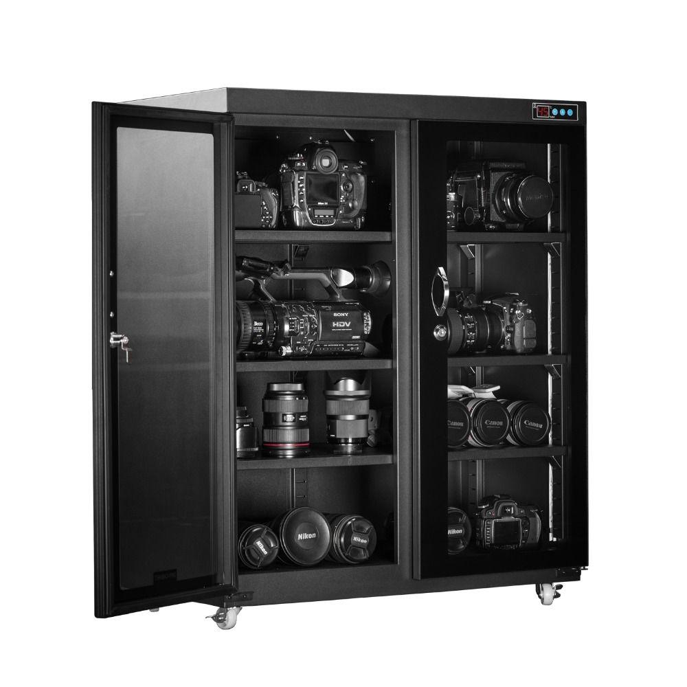 Hohe Qualität Horizontale Typ Trockenen Box Elektronische Trockenen Schrank Mit Super Kapazität Automatische Feuchtigkeit-beweis Box 260 Liter