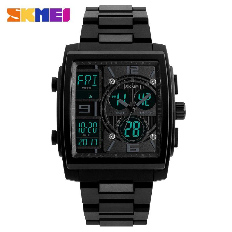 SKMEI Männer Sport Uhren 2018 Männlich Uhr Mode Herren Elektronische Handgelenk Uhren Top Marke Luxus Digitale Uhr Relogio Masculino