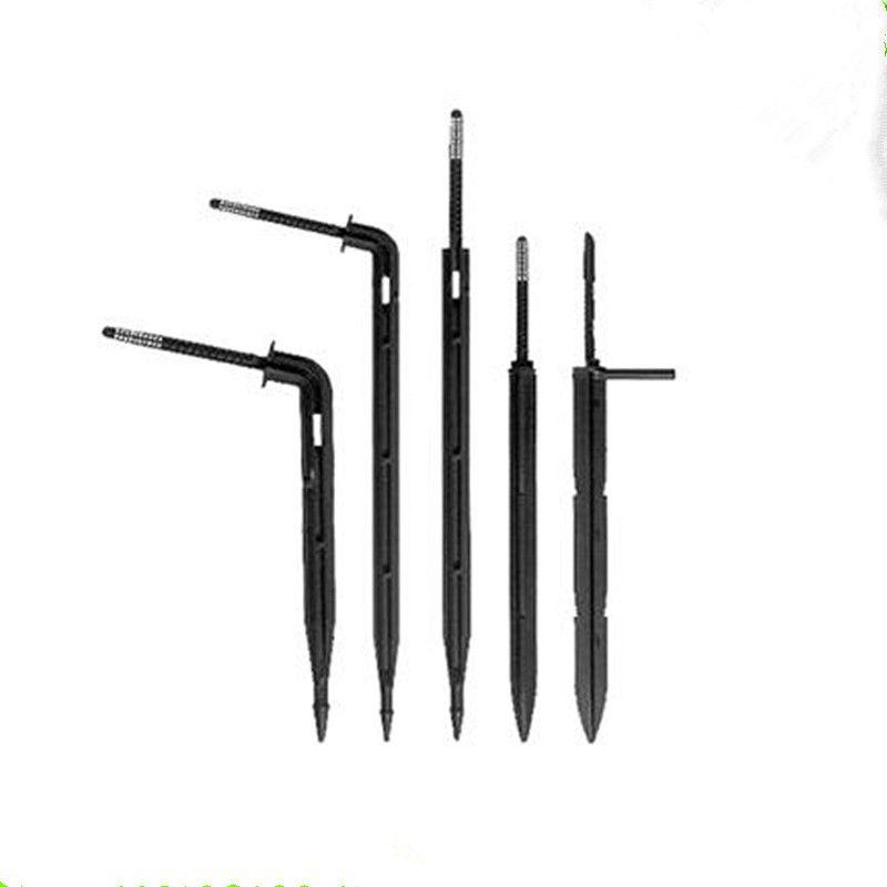 100 Pcs/lot Micro Kit d'irrigation goutte à goutte plier flèche goutteur gouttes émetteurs flèche économie d'eau Micro goutteur maison jardin outils N104