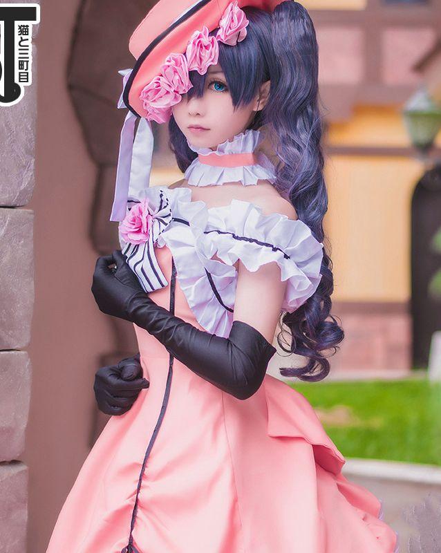 Ciel fantôme Cosplay Costumes noir majordome fille mode Style robe pour cadeau Halloween fête ensemble complet princesse vêtements
