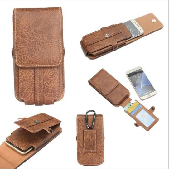 Stone pattern pu Leather Waist Bag Clip Belt Pouch Mobile Phone Holster Case For OUKITEL K10000 Mix/ C9/ U18/ K6/ K5/K10000 Pro