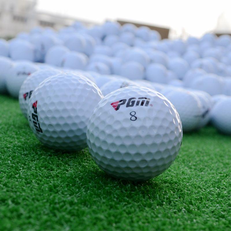100 pièces de balles de golf en plastique de marque PGM chine, balles de golf chine marqueur de balle de golf promotionnel. La quantité minimale de commande est de 100