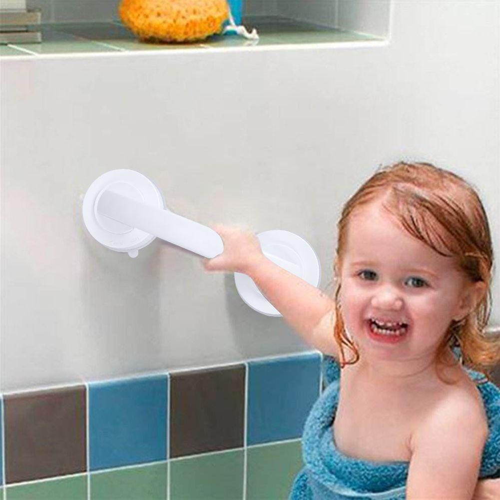 Вакуумная присоска присоски перила Ванная комната Super Grip Детская Безопасность grab Бар Ручка для Стекло двери Ванная комната старшего Беспла...