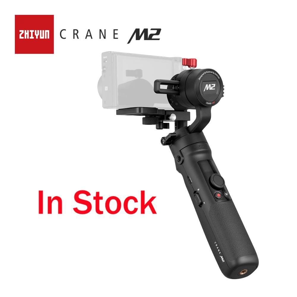 ZHIYUN Offizielle Kran M2 3-Achsen Kardanisch für Action Spiegellose Kompakt Kameras Smartphones Neue Ankunft Stabilisator In Lager
