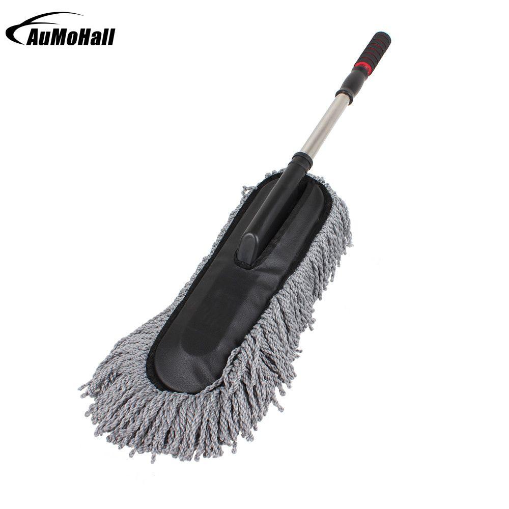 Grand microfibre télescopique lavage de voiture corps Duster brosse saleté poussière vadrouille outil de nettoyage dépoussiérage vadrouilles