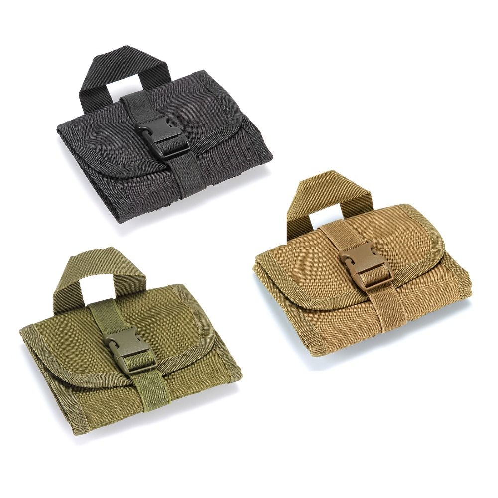 Hunting tactical  multi-functional tactics molle pouch bag 14 hole airsoft bandolier bags waist bag 3 color Choose