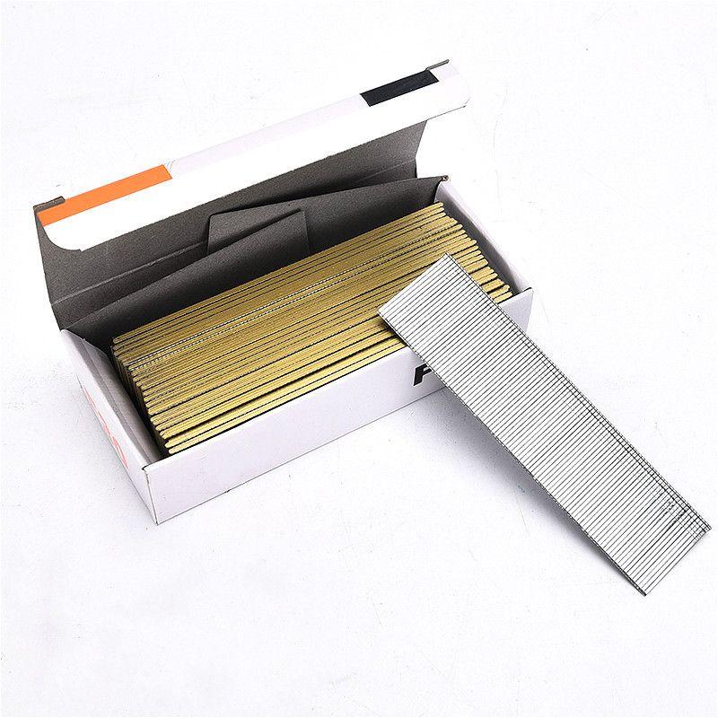 10000 stücke Gerade Nagel Gas Nägel 10-50mm Luft Nagel Pistole Schraube Verzinktem Engineering Holz Nagel für Elektrische