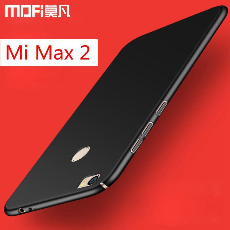 Xiaomi mi max2 cas couverture max 2 couverture arrière protection dur PC de protection téléphone capas or MOFi d'origine xiaomi mi max 2 cas