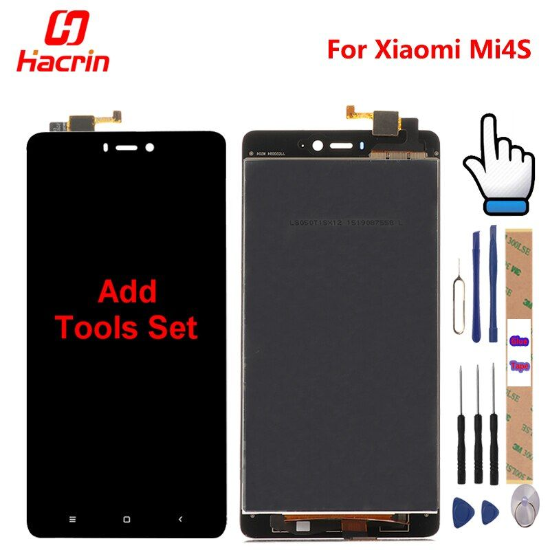 Xiaomi Mi4S LCD Display + Touch Screen + Tools 100% New Digitizer Assembly Replacement For Xiaomi Mi4S Mi 4S