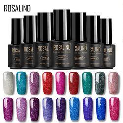 ROSALIND Gel Nails rainbow Gel 7ML uv led gel nail polish Can Be Soak Off Nail Polish Nail Art UV&LED Gel Polish Varnish