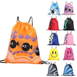 Waterproof Swimming Backpack Double Layer Drawstring Sport Bag Shoulder Bag Water Sports Travel Portable Sport Bag For Stuff