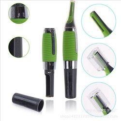 Микро прецизионный триммер для бровей и ушей для носа триммер для стрижки волос Бритва Личная электрическая уход за лицом волосы тример со ...