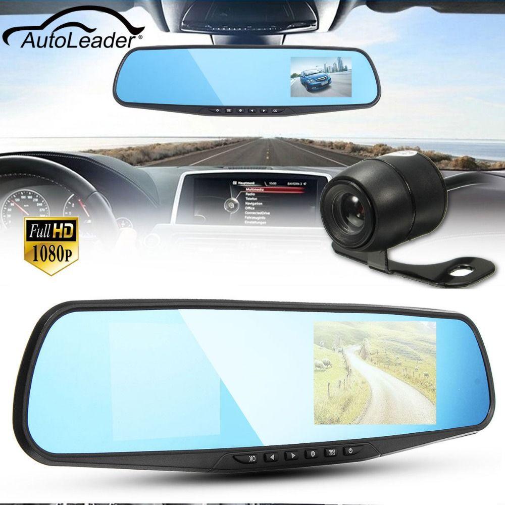 HD 1080P 3.8 Inch 140 Angle Night Vision Car Rear View Mirror Camera Dash Cam Video Recorder Reverse Backup Camera