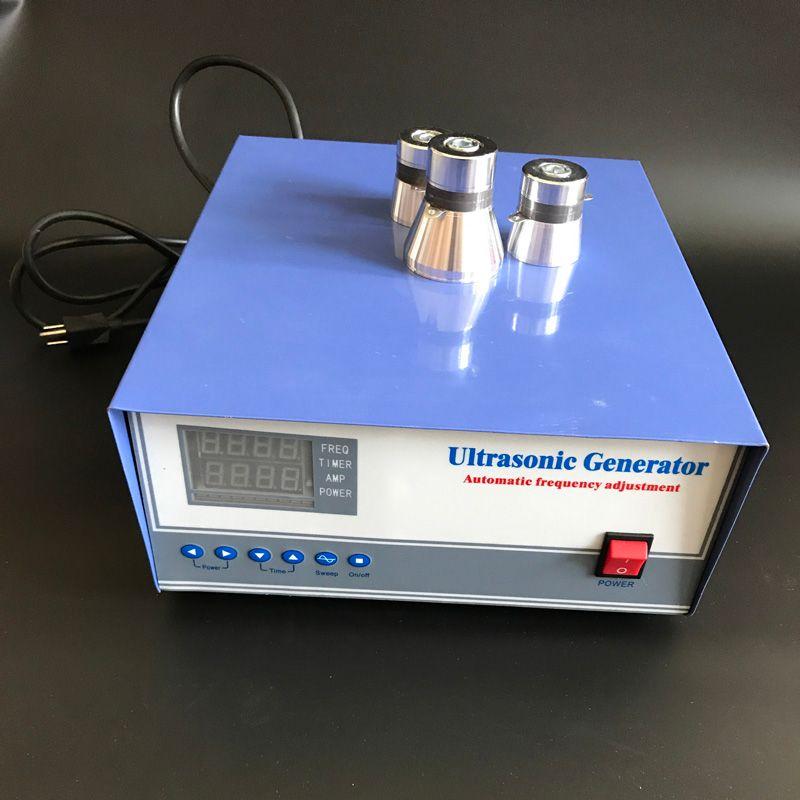 ultrasonic generator 2000W 220V 17khz/20khz/25khz/28khz/30khz/33khz/40khz with transducers ultrasonic power generator