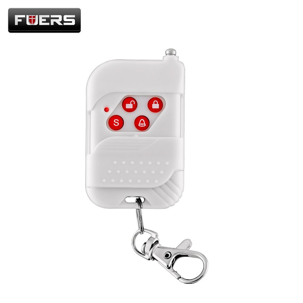 Wireless Plastic Remote Control Button For KERUI WIFI GSM PSTN Alarm Systems Security Home 433Mhz