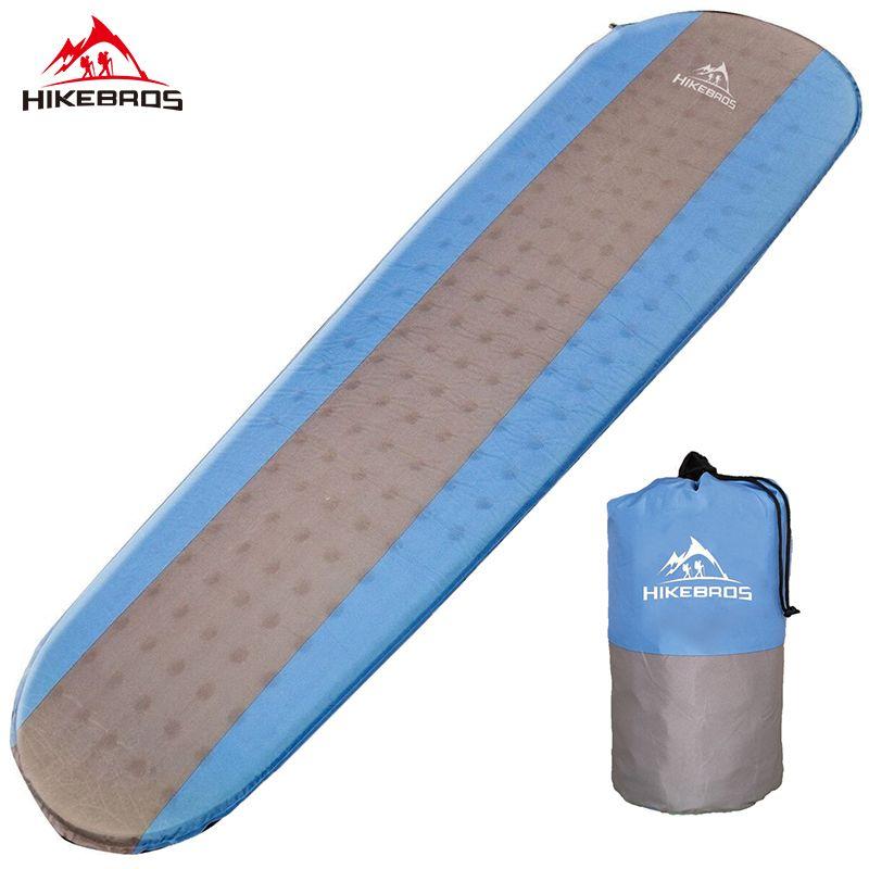 HIKEBRO Hot Sales Mummy sleeping bag Self inflating Sleeping Pad Moisture proof sleeping mat
