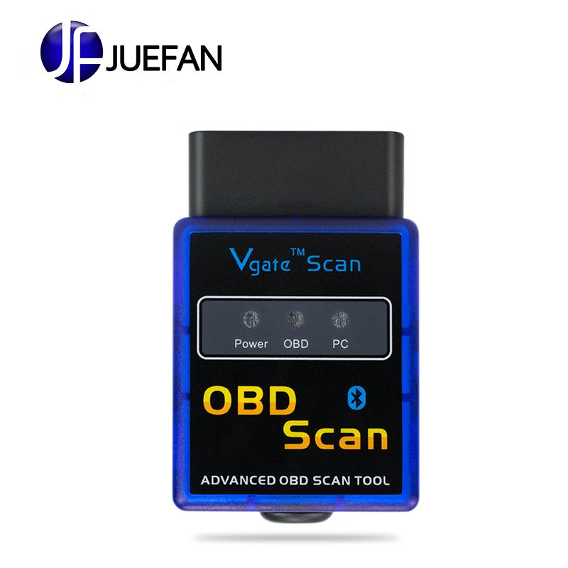 Haute qualité Firmware V2.1 Super Mini ELM327 Bluetooth OBD2 outil de Diagnostic orme 327 V2.1 Bluetooth livraison gratuite