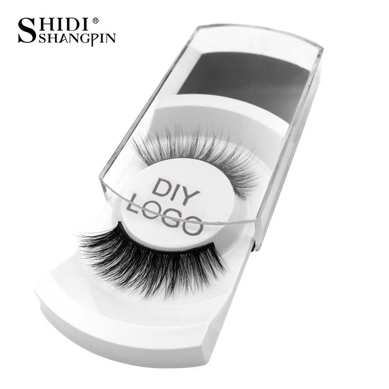20/30/50/100 pairs DIY logo anpassen gefälschte wimpern paket nach label falschen wimpern 3d nerz wimpern make-up wimpern großhandel
