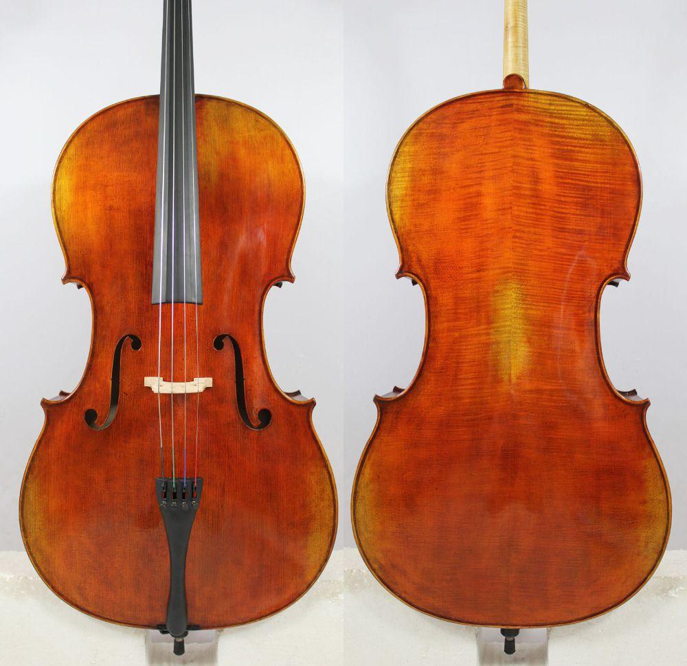 Copy of Pietro Giacomo Rogeri 1710 4/4 Cello All European Wood Best Model