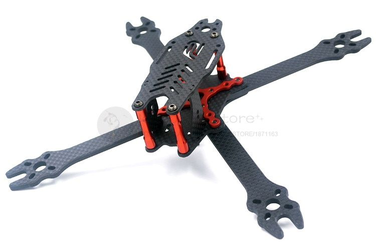 Новейшие DIY Мини FPV-системы F2 Mito 210 Cross Racing Drone чистого углеродного волокна Quadcopter Рамка в разобранном виде