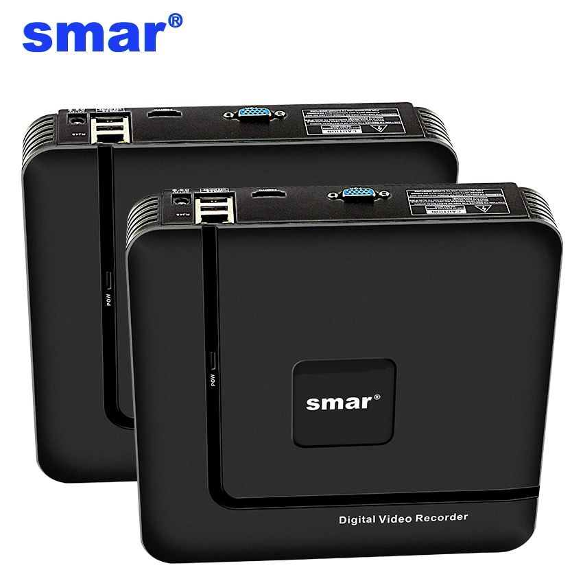 Smar Newest Mini NVR Full HD 4 Channel 8 Channel Security Standalone CCTV NVR 1080P 4CH 8CH ONVIF 2.0 For IP Camera System 1080P