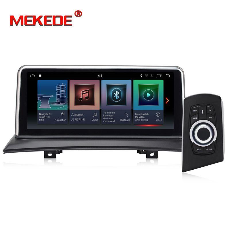 MEKEDE 10,25 ''Android 7.1 Auto Navigation Player auto DVD Smart system Für BMW X3 E83 (2004-2009) mit iDrive Auto Audio Auto GPS