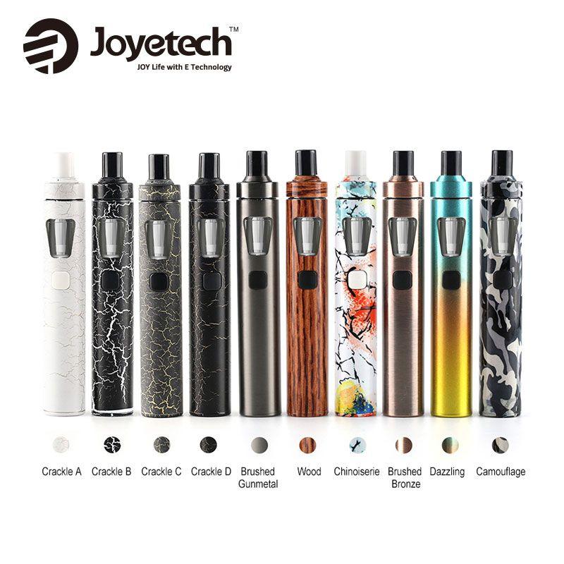 Joyetech eGo AIO Rapide Kit Nouveau Couleurs 1500 mAh 2 ml Capacité Tout-en-Un Kit Cigarette Électronique vaporisateur D'origine vs ijust s