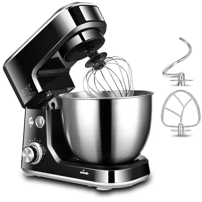 Beijamei Electric Dough Mixing Kneading New Eggs Blender Beater 4L Kitchen Home Food Milkshake/Cake Mixer Machine