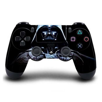 Game PS4 Controller PS4 Skin Star Wars PVC Sticker Full Coverage for Sony Play Station 4 Wireless Controller Skin PS4 Accessory