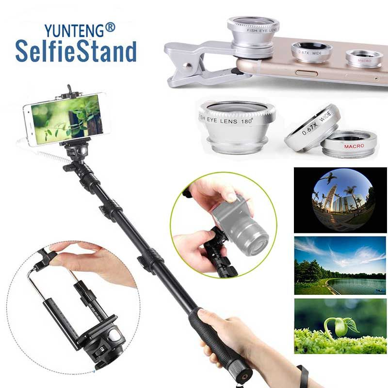 For Sony CS 39h MINI For Samsung S 9 Edge + G5 G4 Handheld DSLR Camera Self-Timer monopod Wired Cable Selfie Stick Pole Control