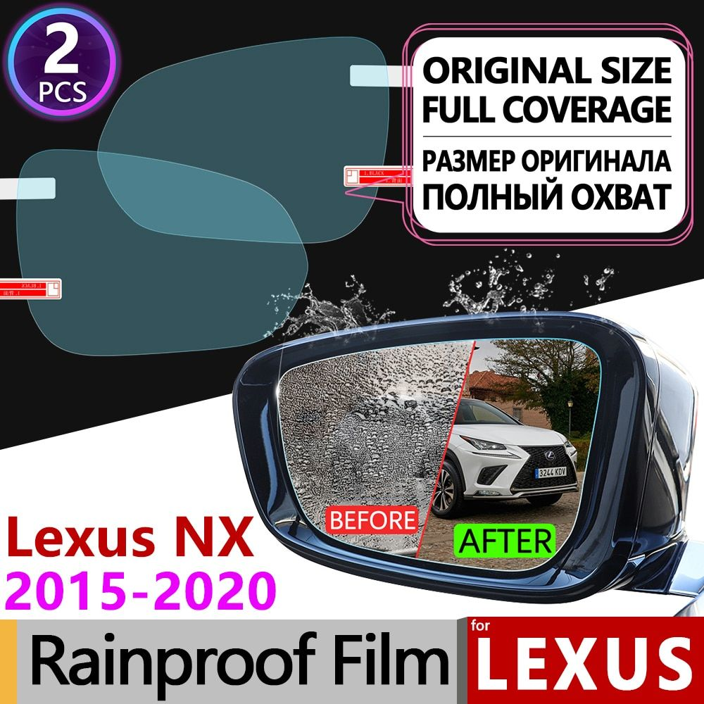 Für Lexus NX NX200t NX300h NX200 NX300 200 t 300 h 200 300 Volle Abdeckung Anti Nebel Film Rückspiegel regendicht Filme Zubehör