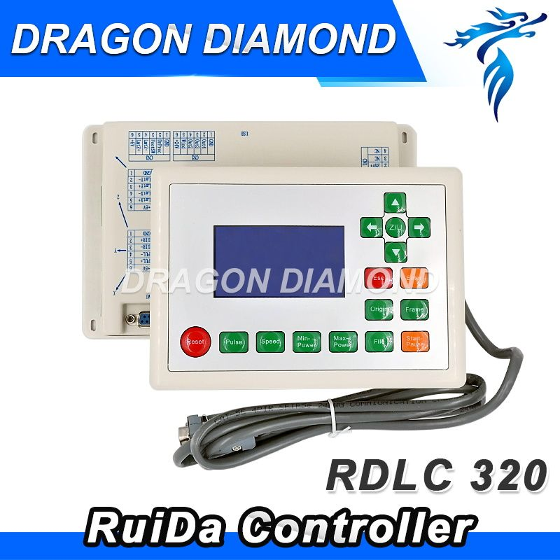 CO2 Laser Cut Machine Ruida RD320A laser controller system new version controller 320 RDLC320-A