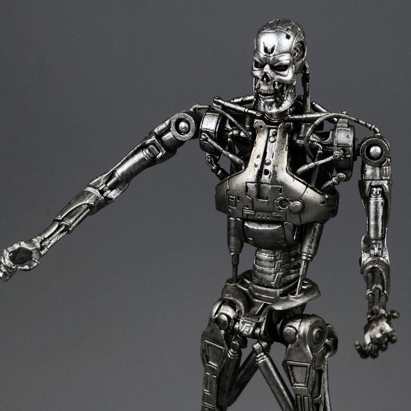 Nouvelle Boîte Livraison Gratuite NECA Terminator 2 Figurine T800 Cyberdyne Confrontation Jouet EN PVC 7