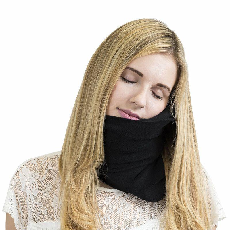 Portable Airplane Neck Pillow Comfortable Travel Pillows Sleep Home Textile Cojines Travesseiro Oreiller Pillow Travel Headrest