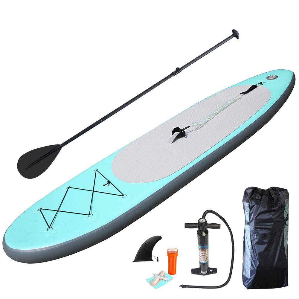 Hohe qualität Aqua grüne Aufblasbare Sup Bord Stand Up Paddle Board Aufblasbare Surfbrett