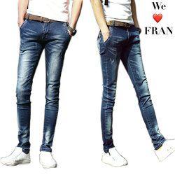 UMMEWALO Skinny Jeans Men Stretch Slim Denim Jeans Mens Casual Cotton Washed Designer Clothes Jeans Masculino Jean Homme
