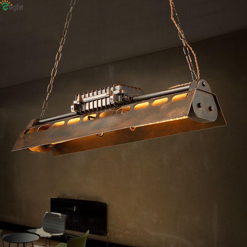 Amerikanischen Retro Metall Led Pendelleuchten Edison-lampen Esszimmer Led Pendelleuchte Loft Led Pendelleuchte Hängen Leuchten
