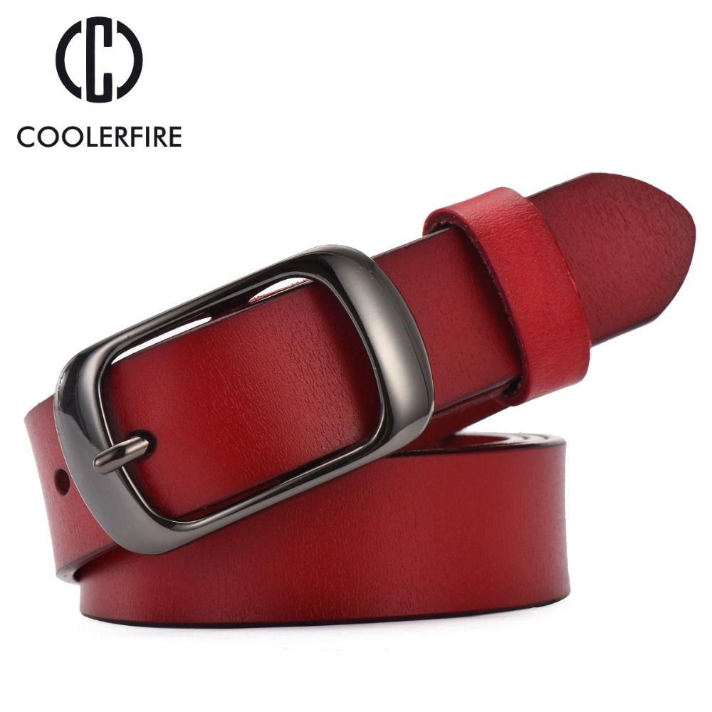 2017 femmes sangle décontracté all-match femmes brève ceinture en cuir véritable femmes sangle couleur pure ceintures Top qualité jeans ceinture WH001