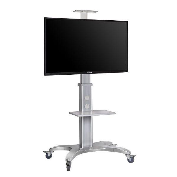 Aluminum Alloy NB AVF1500-50-1P TV Mobile Cart Free Lifting 55