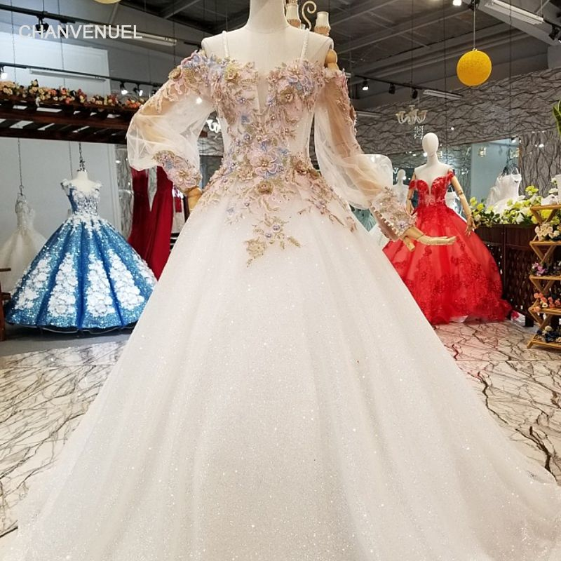LS321740 2018 newest cheap pure evening dress off shoulder long sleeve sweetheart girl occasion dress free shipping real price