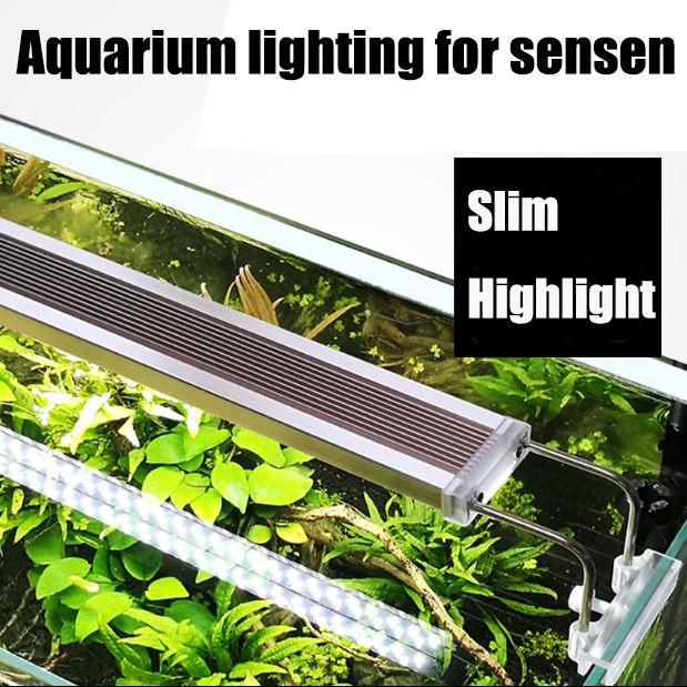 Sunsun ADE série Mince LED Aquarium Lumière Éclairage plantes Élèvent La Lumière 220 v/50 hz plante aquatique éclairage